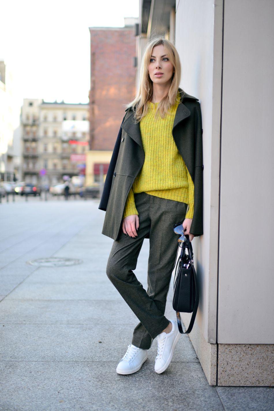 sportowe buty do eleganckich spodni