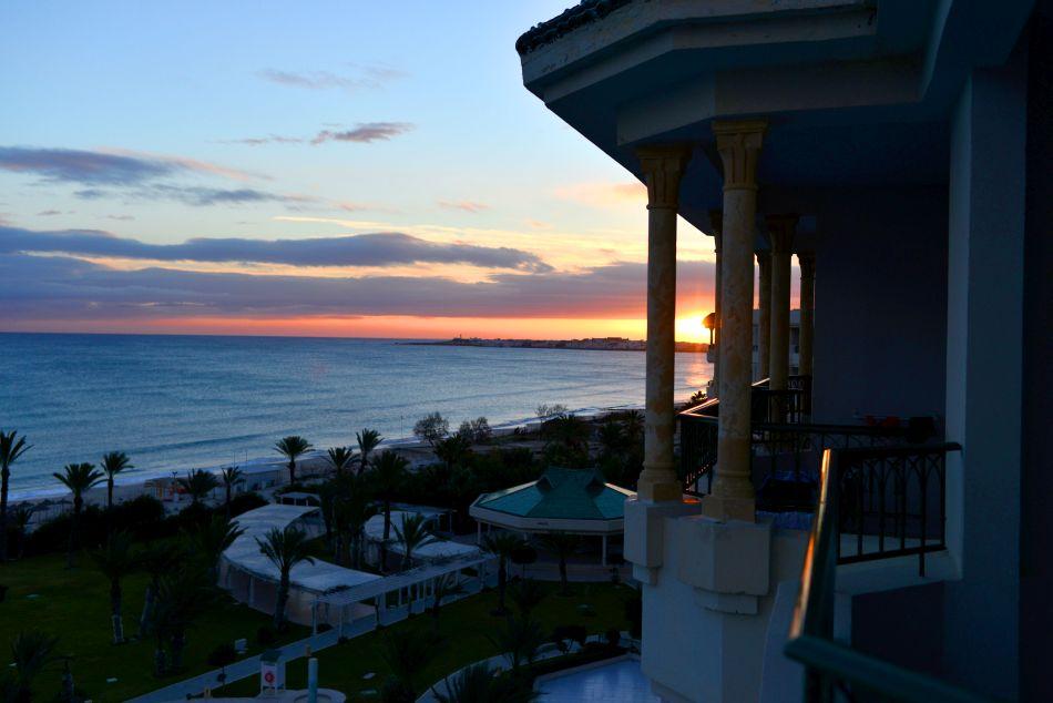 wschód słońca tunezja