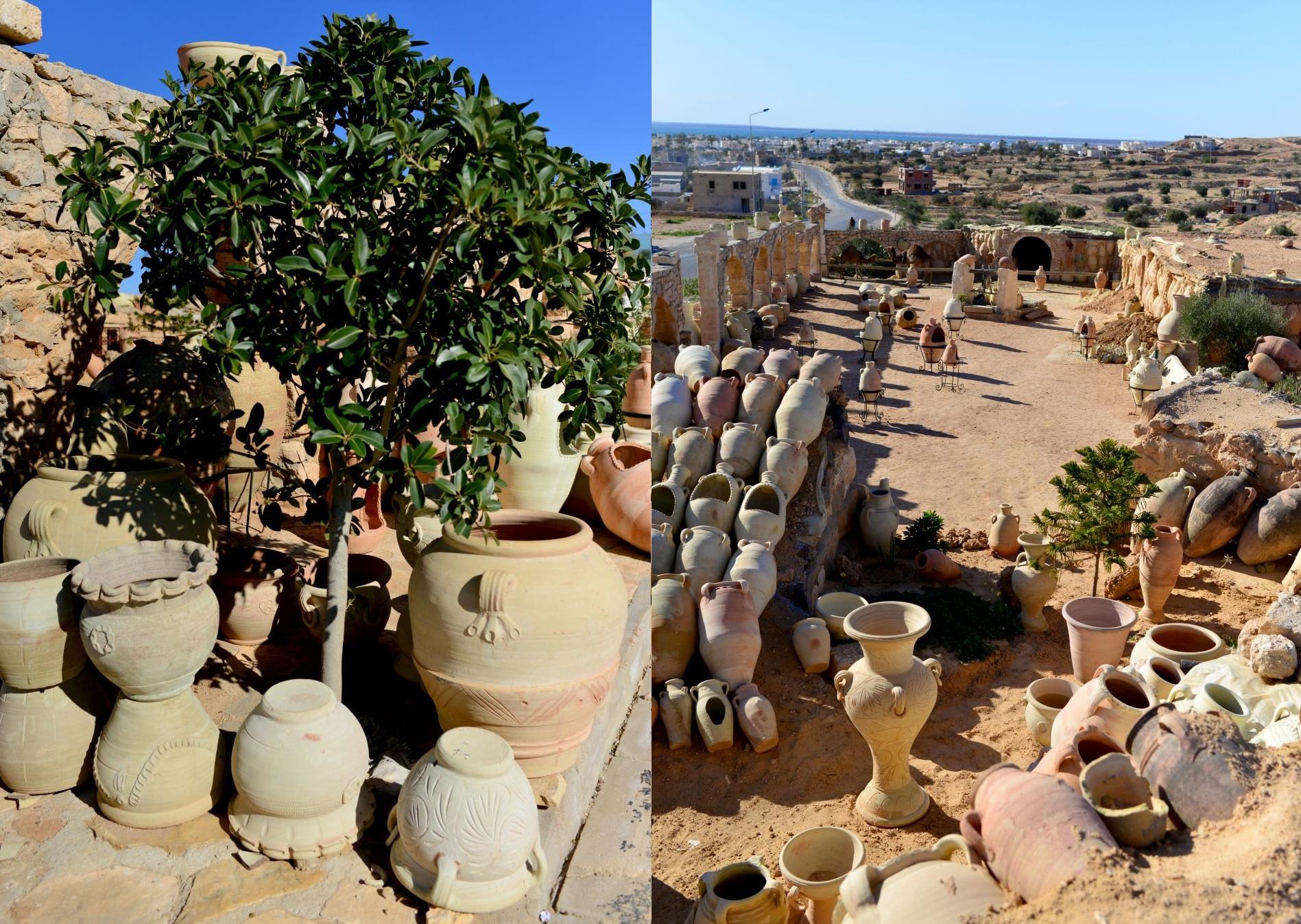 wyroby gliniane tunezja