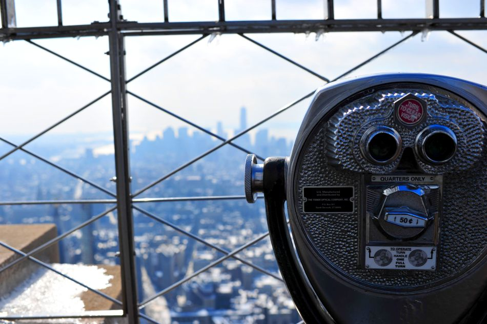 widok z empire state building