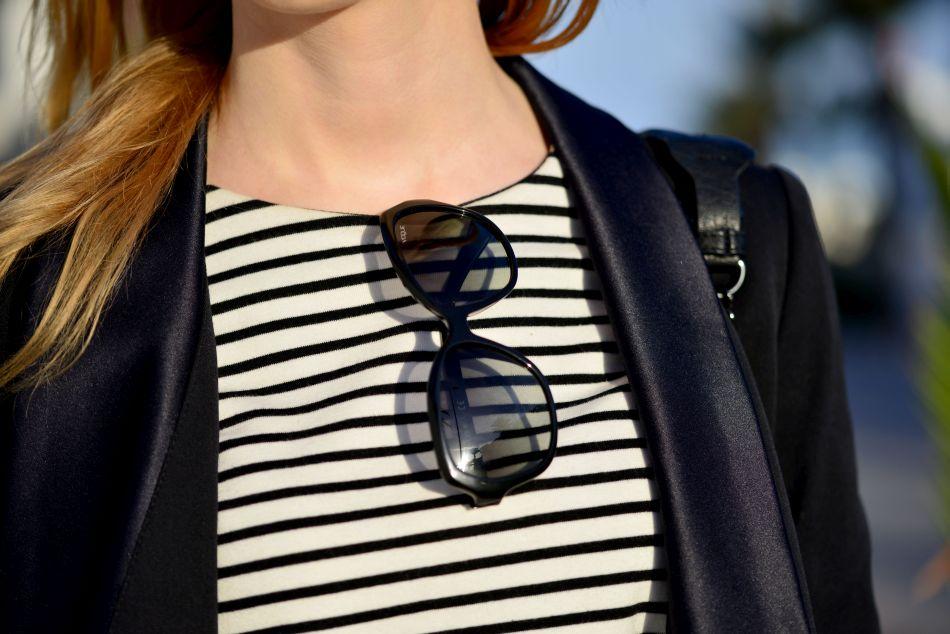 okulary vogue, bluzka COS