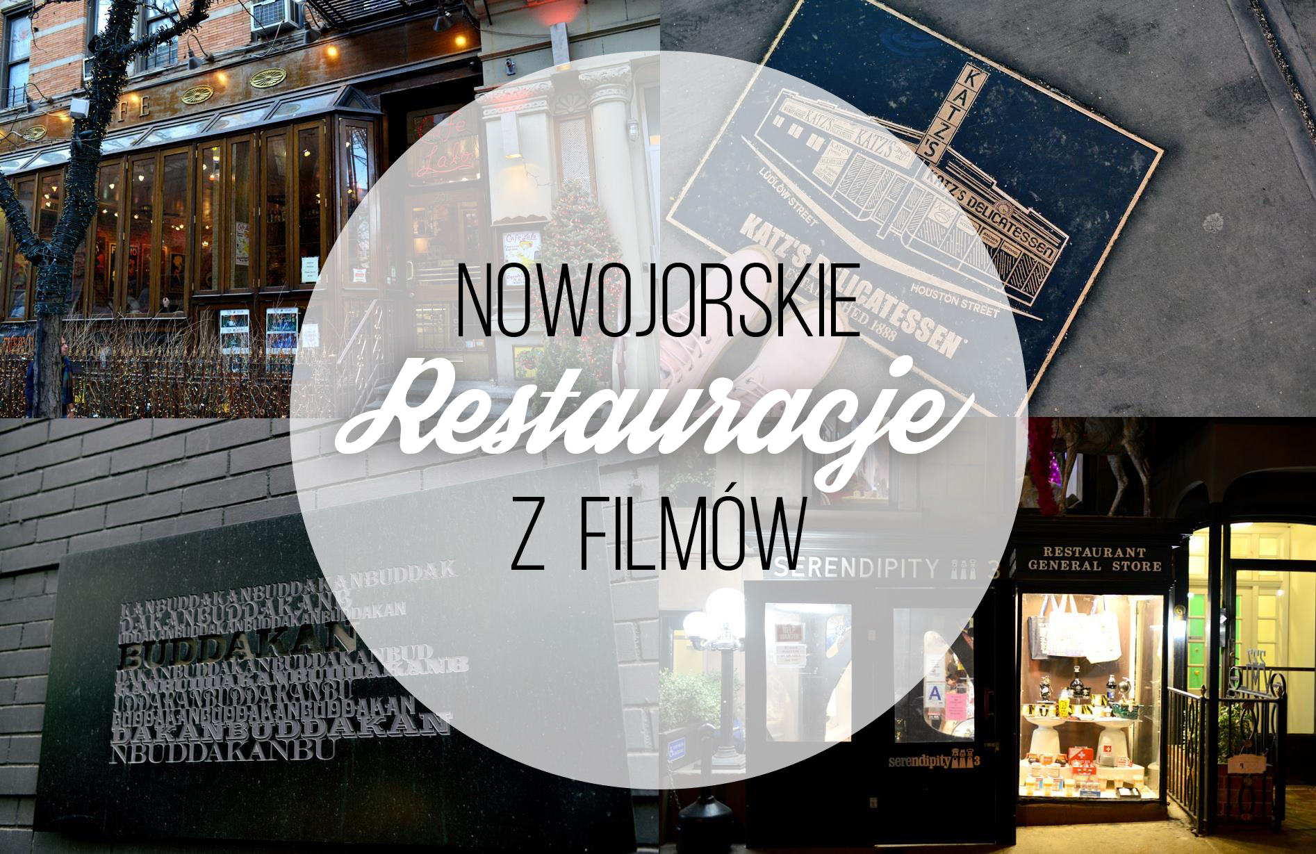 Nowojorskie Restauracje Z Filmów Charlize Mystery