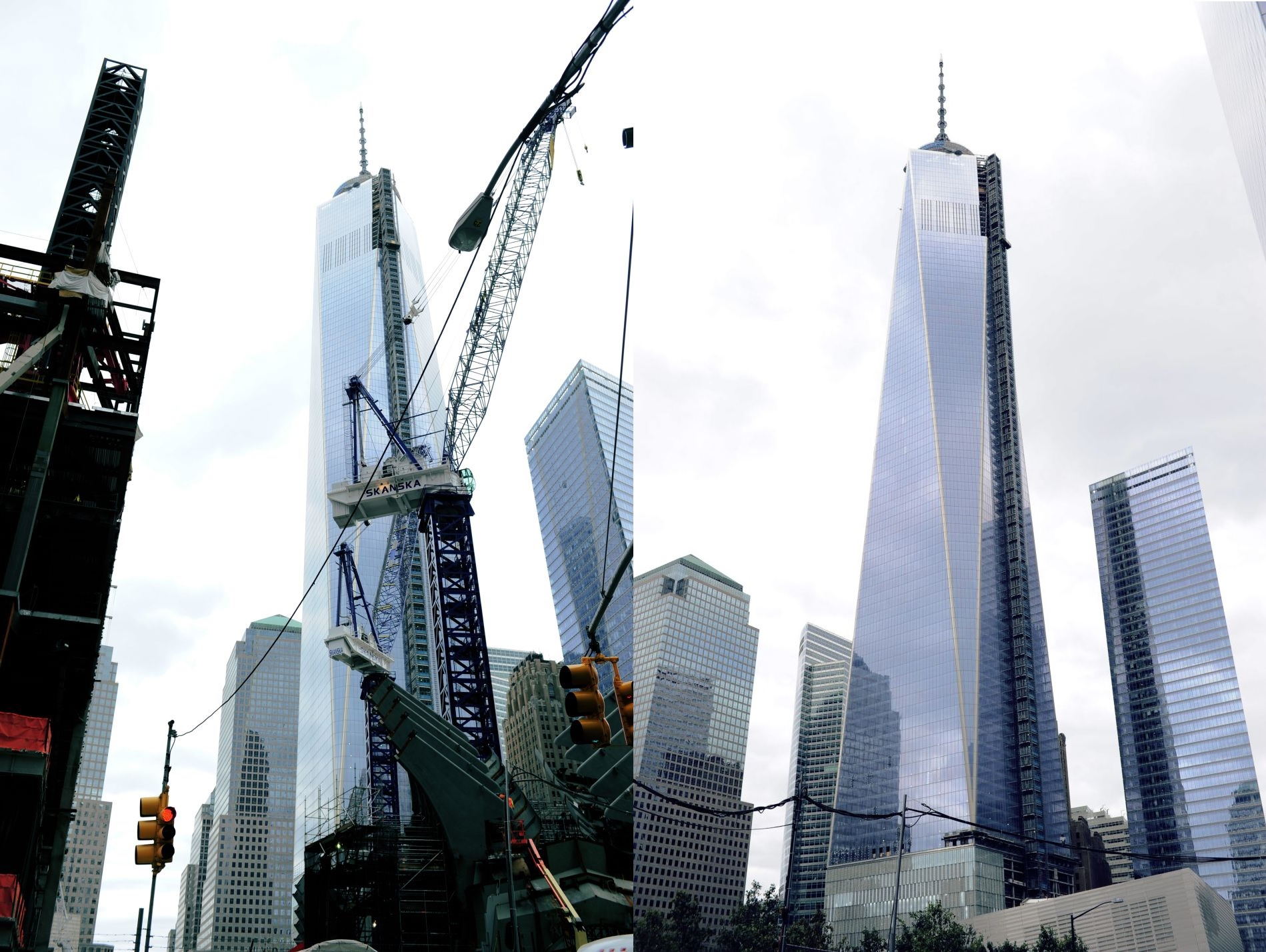 WTC ONE widok na manhattan