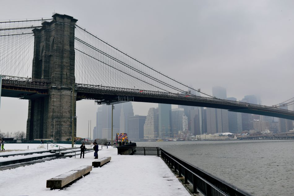 brooklyn bridge widok