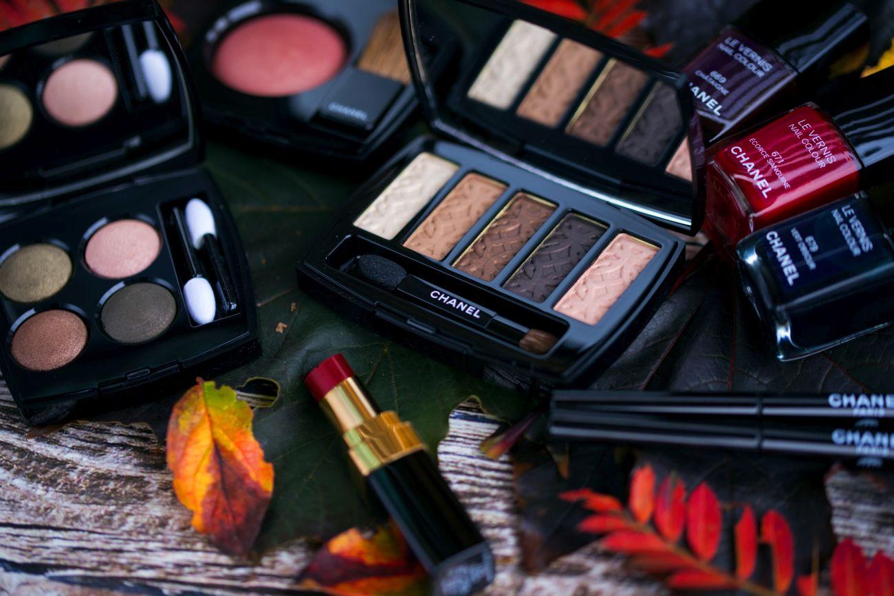 kolekcja makijażu chanel